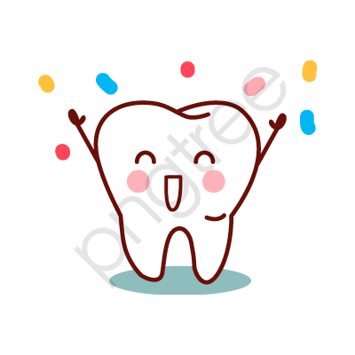 Hand Painted Teeth, Happy, Smile, Tooth PNG Transparent Image and.