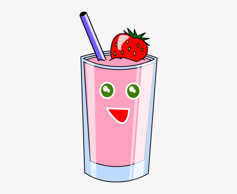 Picture Free Stock Smoothie Clipart Blueberry Smoothie.