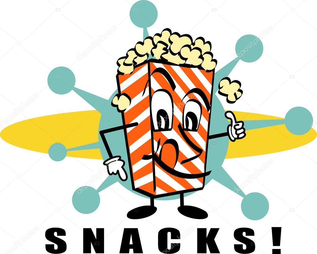 Cmages: clip art popcorn.