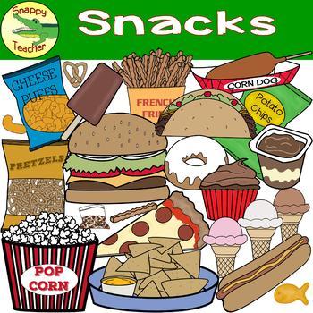 Snack Food Clip Art.