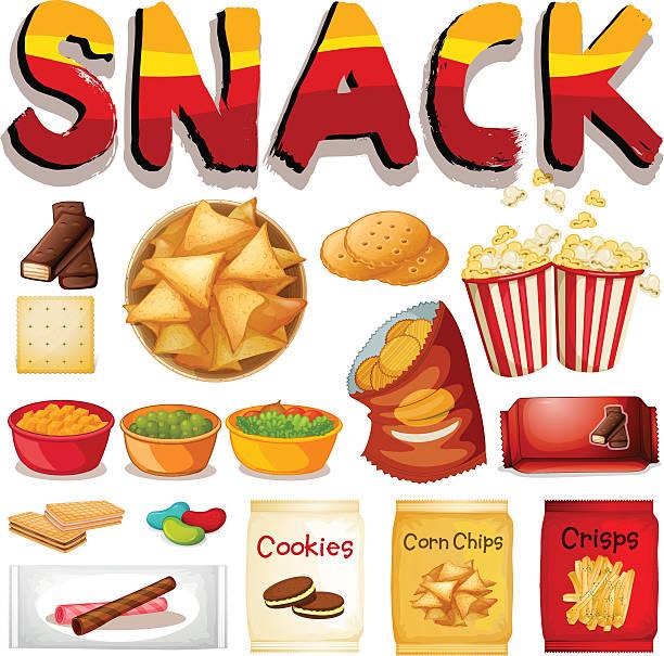 Best Snacks Illustrations, Royalty.