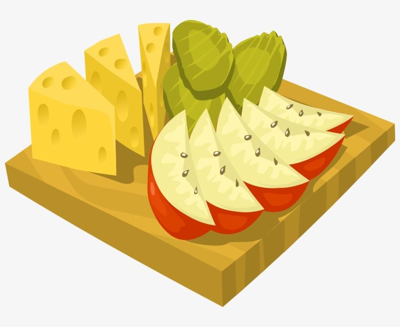 Snack Food Clip Art Image.