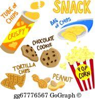 Snacks Clip Art.