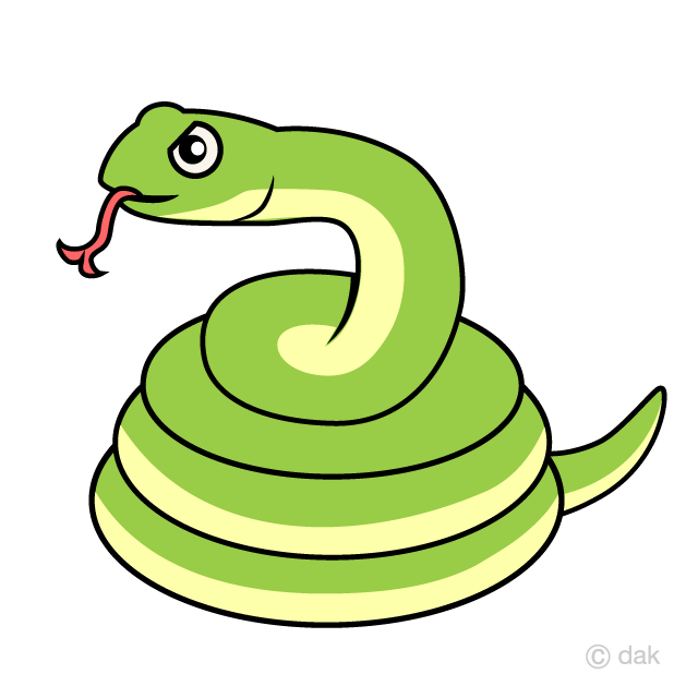 Snake Coil Side Clipart Free Picture|Illustoon.