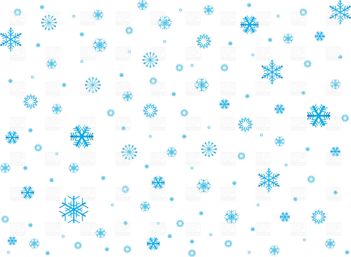 Snow background clipart kid.