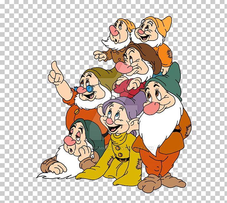Snow White Seven Dwarfs Dopey Bashful PNG, Clipart, Art, Artwork.