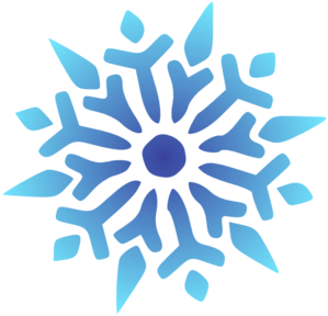 Snowflake Blue Radiant Clip Art at Clker.com.