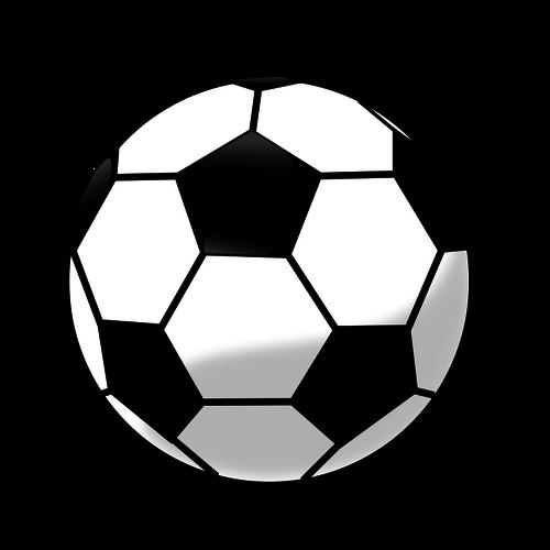 22480 soccer ball clip art outline white.