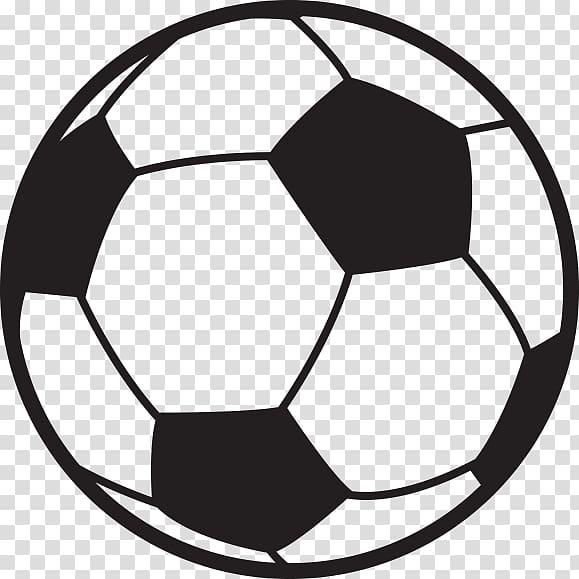 Football , Soccer Ball Outline, soccer ball illustration transparent.