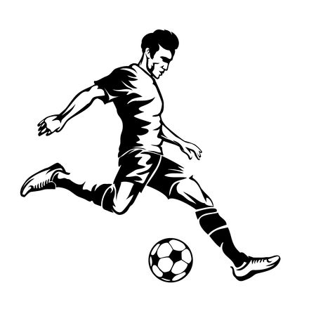 59,267 Soccer Player Stock Vector Illustration And Royalty Free.