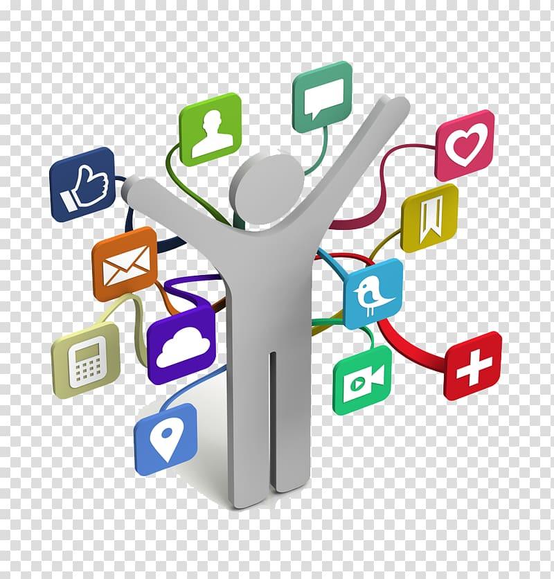 Social media Social network , networking transparent background PNG.