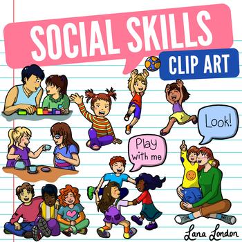 Social Skills Clip Art.