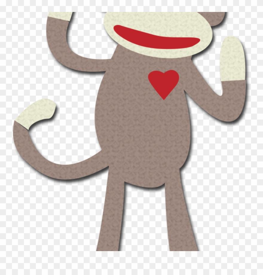Sock Monkey Clip Art Free Library Music Clipart.