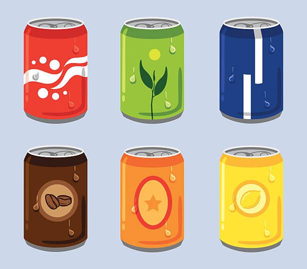 Best Soda Pop Illustrations, Royalty.
