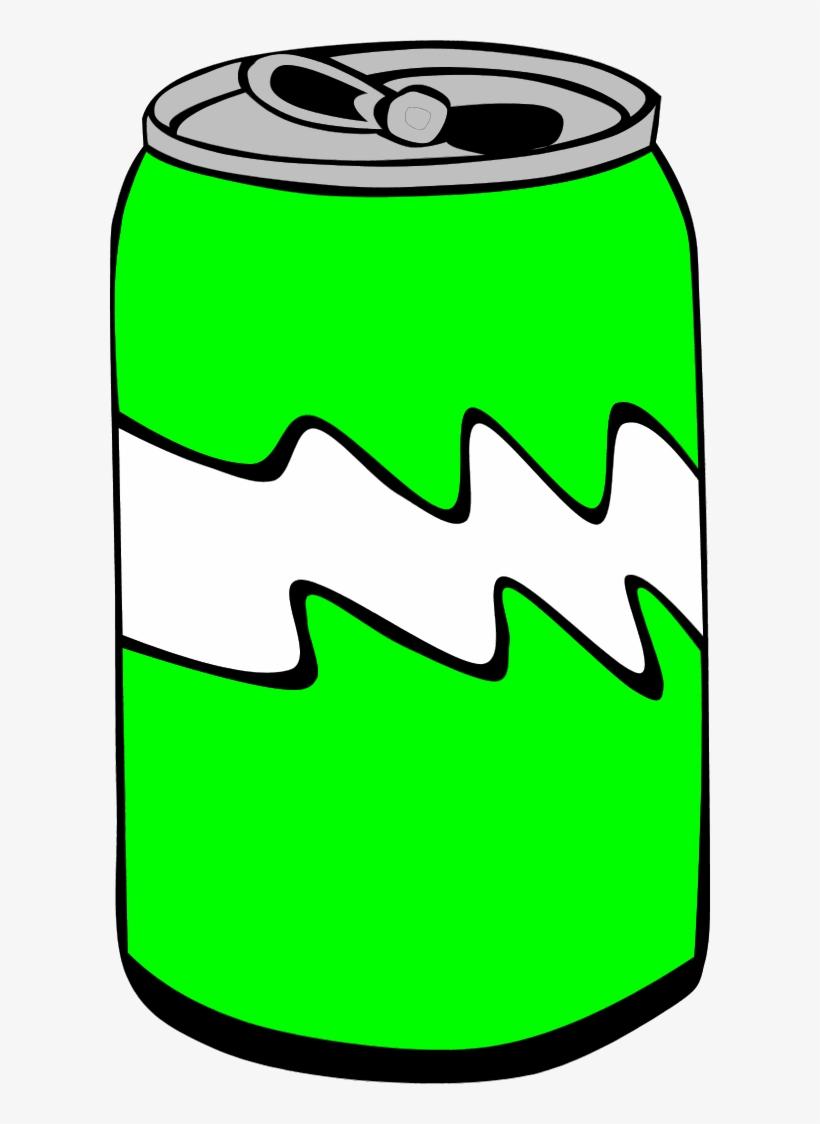 Soda Can Vector Clip Art.