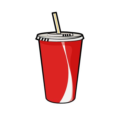 13,392 Soda Cup Stock Vector Illustration And Royalty Free Soda Cup.