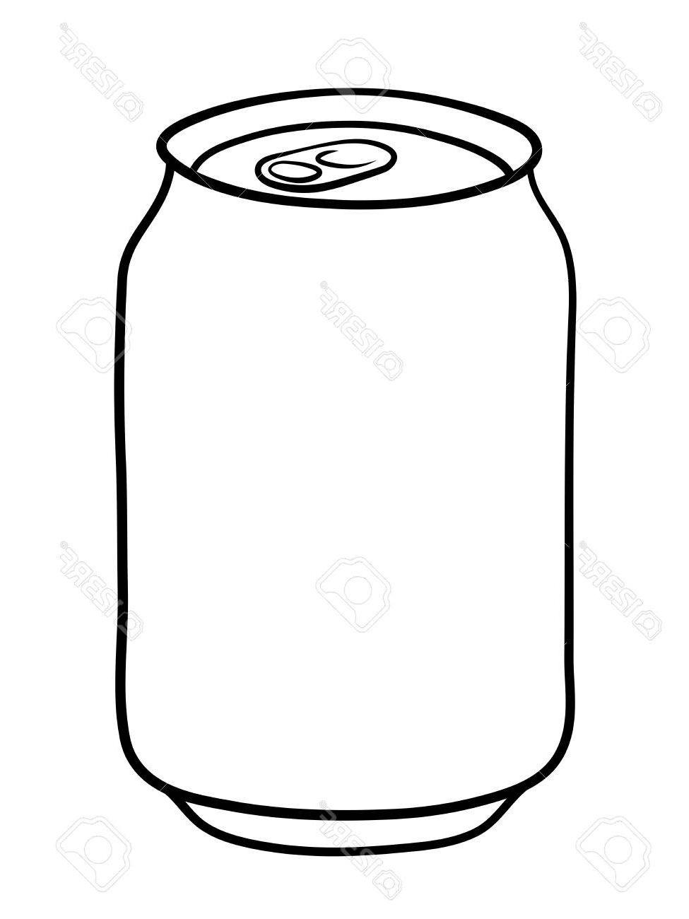 Best HD Soda Can Clip Art Silhouette Library » Free Vector Art.