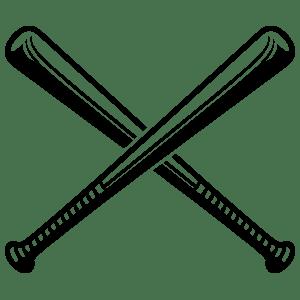 Softball bats crossed clipart 1 » Clipart Portal.