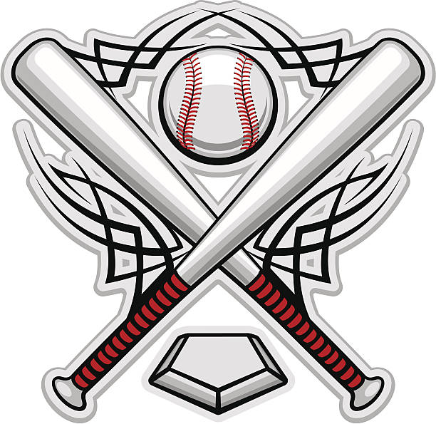 Best Softball Bat Illustrations, Royalty.