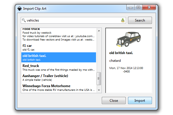 Free Commercial Use Clip Art for Inkscape.