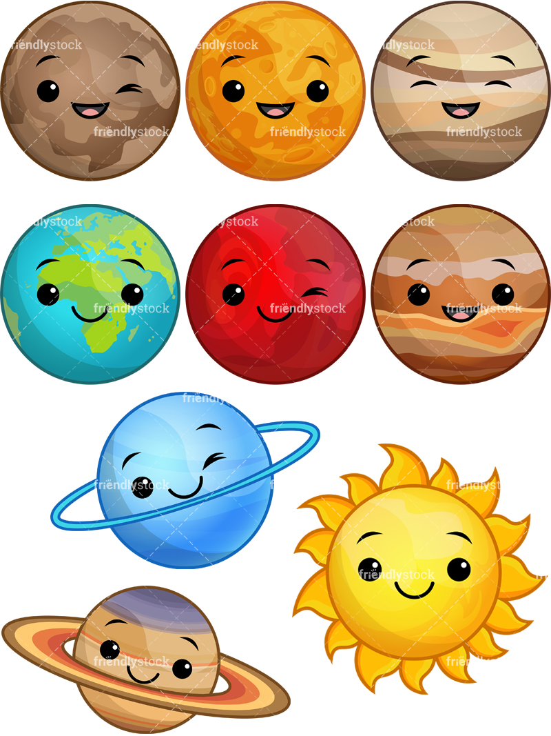 Kawaii Solar System.