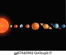 Solar System Clip Art.