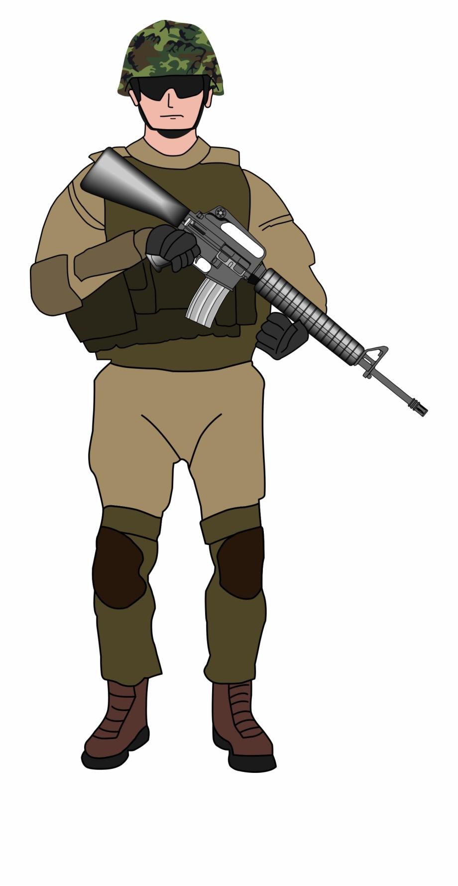 Soldier Transparent Png.