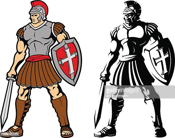 60 Top Roman Soldier Stock Illustrations, Clip art, Cartoons.