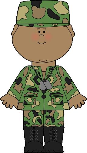 SOLDIER BOY CLIP ART.