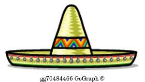 Sombrero Clip Art.