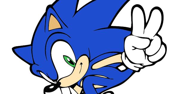 Sonic the Hedgehog Clip Art.