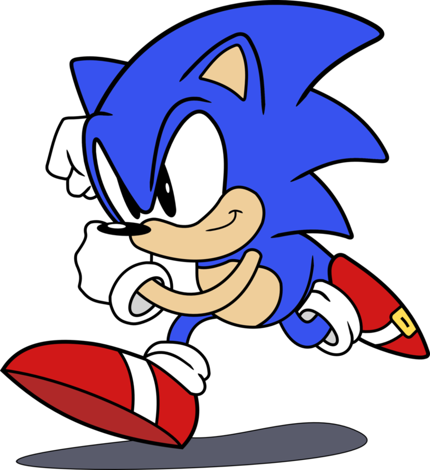 72+ Sonic The Hedgehog Clipart.