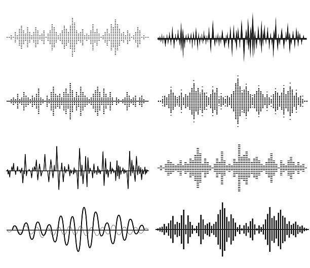 Best Sound Wave Illustrations, Royalty.