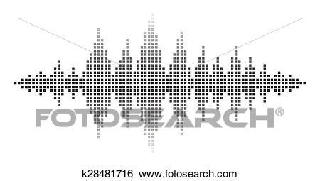 Sound Waves Clip Art.