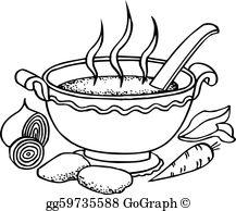 Soup Kitchen Clip Art.