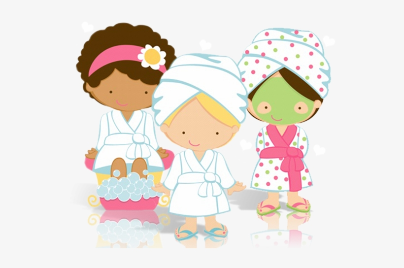 Clipart Spa Party Png Transparent PNG.