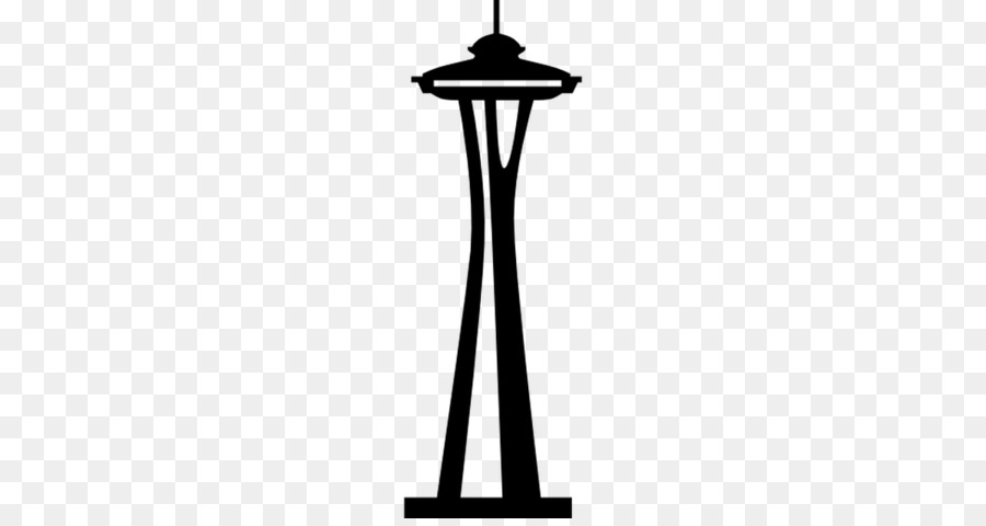 Space Needle Background png download.
