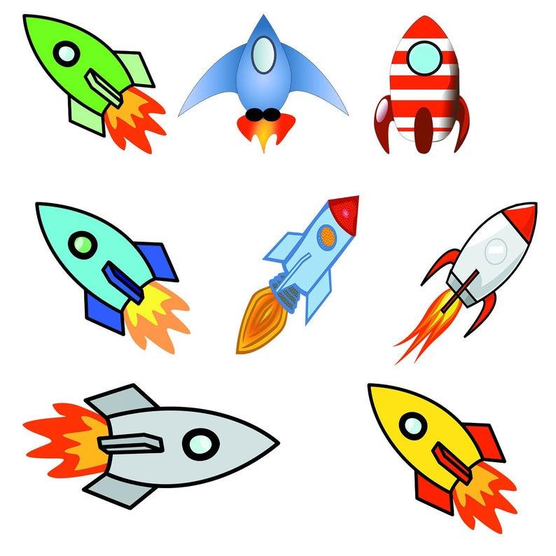 Rockets Clipart, Spaceship Clip Art, Spacecraft PNG, Rocket images, Rocket  ship Images.