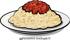 Spaghetti Clip Art.