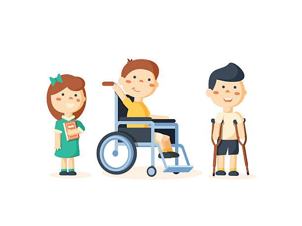 Best Special Needs Children Illustrations, Royalty.