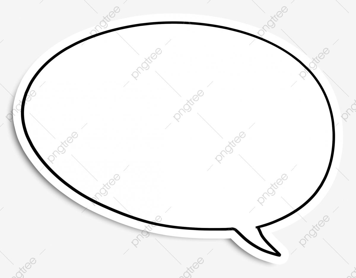 Round Speech Bubble, Round, Bubble, Dialogue PNG Transparent Image.