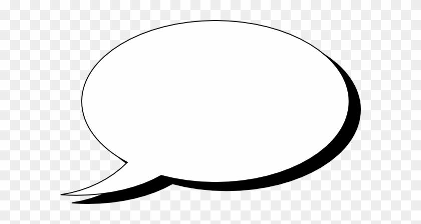 Download Free png Talk Bubble Single Clip Art Speech Bubble White.