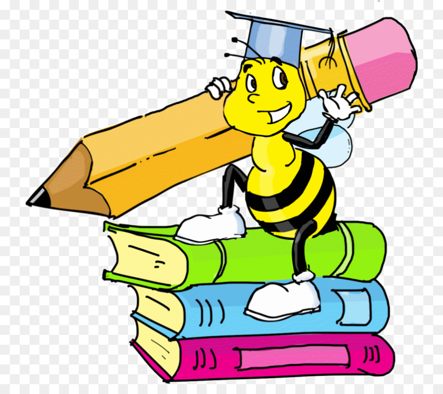 Bee Cartoon png download.
