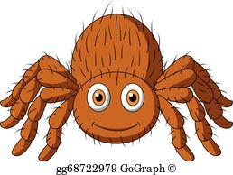 Spider Clip Art.
