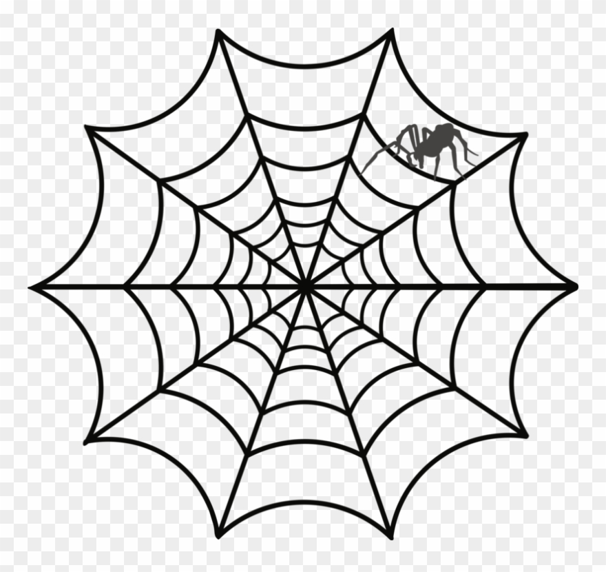 Spider Web Clipart For Free.