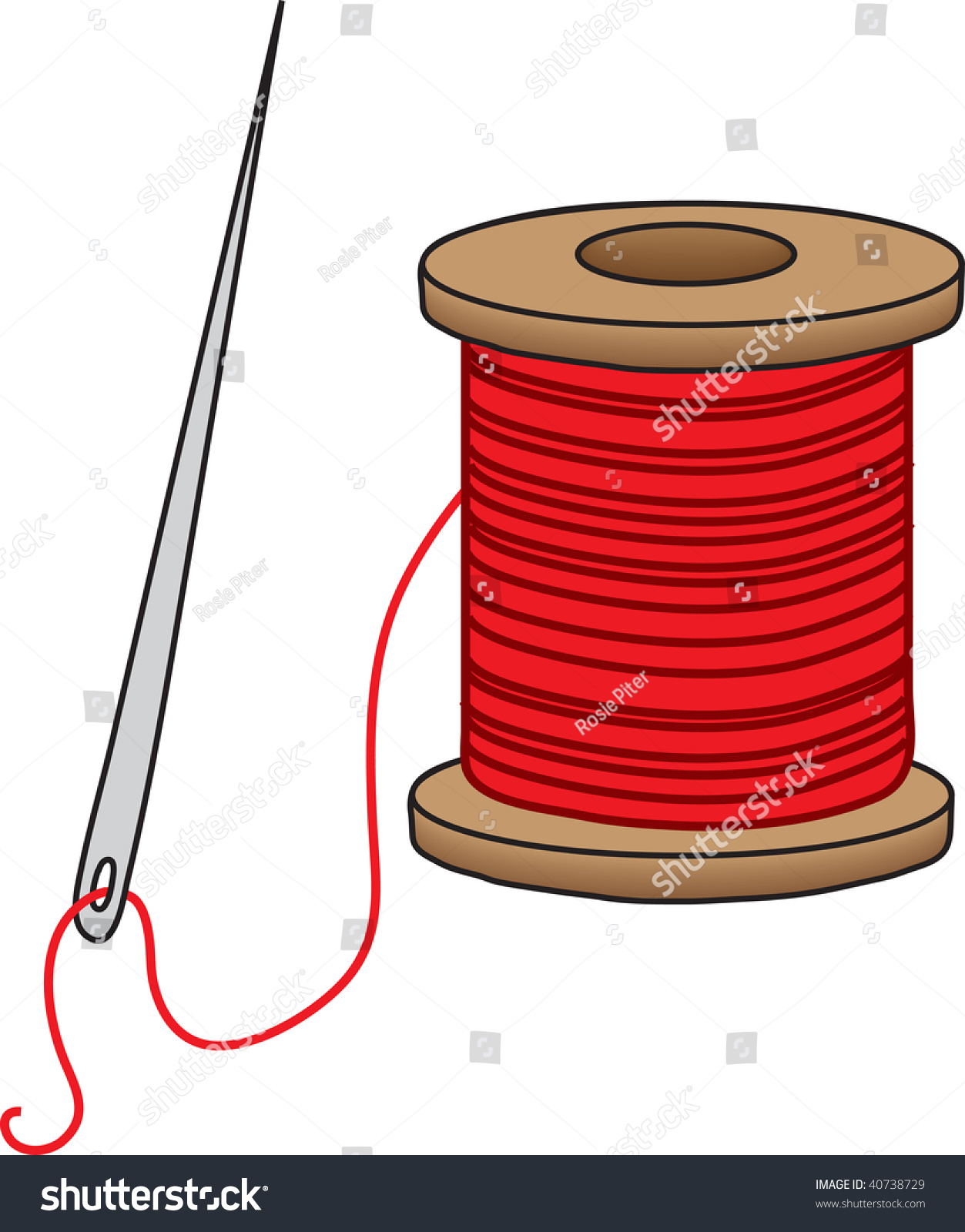 Spool of thread clipart 7 » Clipart Station.