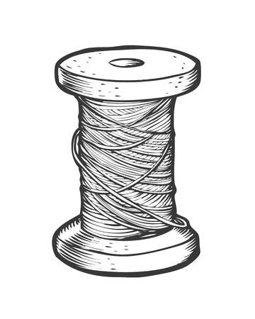 5,906 Spool Of Thread Stock Illustrations, Cliparts And Royalty Free.