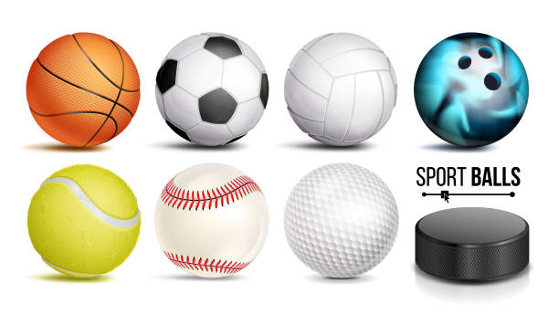 Best Sports Balls Illustrations, Royalty.