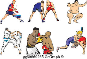 Sport Figures Clip Art.