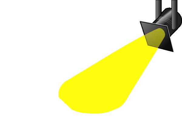Spotlight clip art clipart.